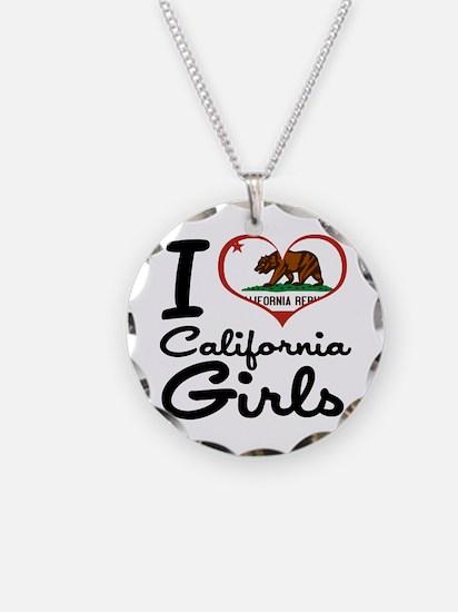 I Love California Girls Necklace