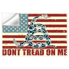 Don't Tread On Me Wall Decal