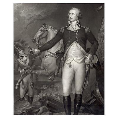 George Washington at Trenton Poster