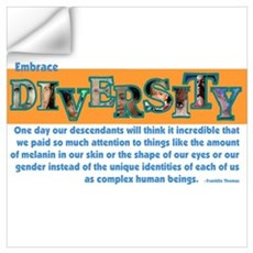 Diversity Wall Decal