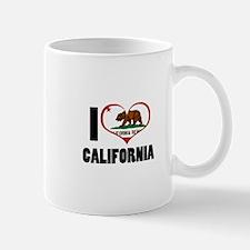 I Love California Mug