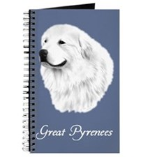 Great PyreneesJournal, Portrait blue