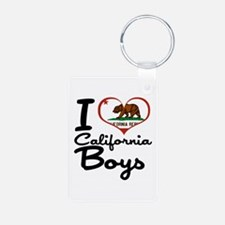 I Love California Boys Keychains