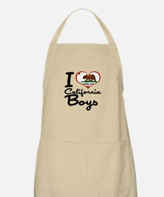 I Love California Boys Apron