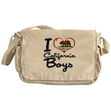 I Love California Boys Messenger Bag