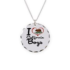 I Love California Boys Necklace