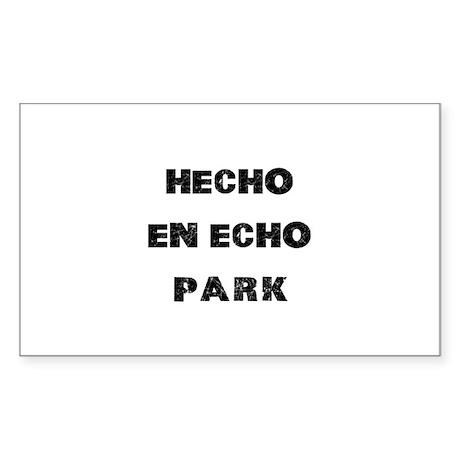 Hecho En Echo Park Sticker (Rectangle)