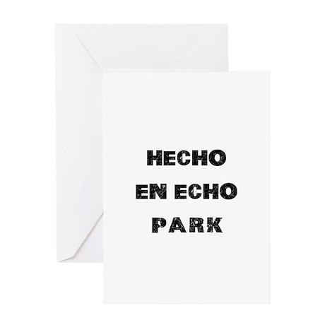 Hecho En Echo Park Greeting Card