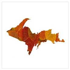 Autumn U.P. Canvas Art