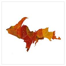 Autumn U.P. Poster