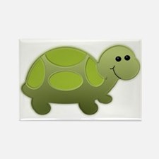 Lil Turtle Rectangle Magnet