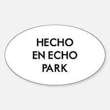 Hecho En Echo Park 2 Decal
