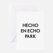 Hecho En Echo Park 2 Greeting Card