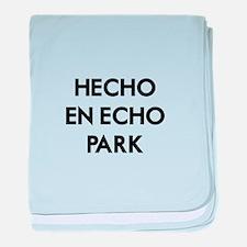 Hecho En Echo Park 2 baby blanket