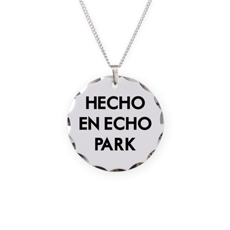 Hecho En Echo Park 2 Necklace Circle Charm