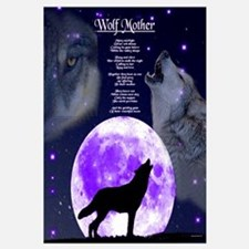 Cute Wolf lovers Wall Art