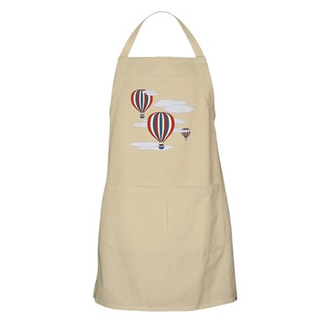Hot Air Balloon Sky Apron