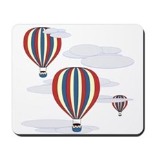 Hot Air Balloon Sky Mousepad