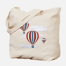 Hot Air Balloon Sky Tote Bag