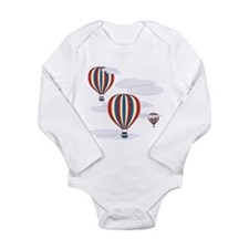 Hot Air Balloon Sky Long Sleeve Infant Bodysuit