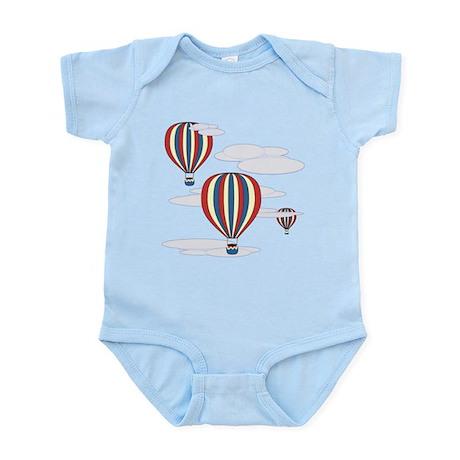 Hot Air Balloon Sky Infant Bodysuit
