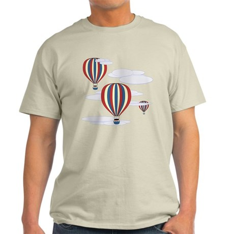 Hot Air Balloon Sky Light T-Shirt