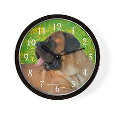 Apricot 6 Wall Clock