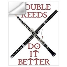 Double Reeds Do It Better Wall Decal