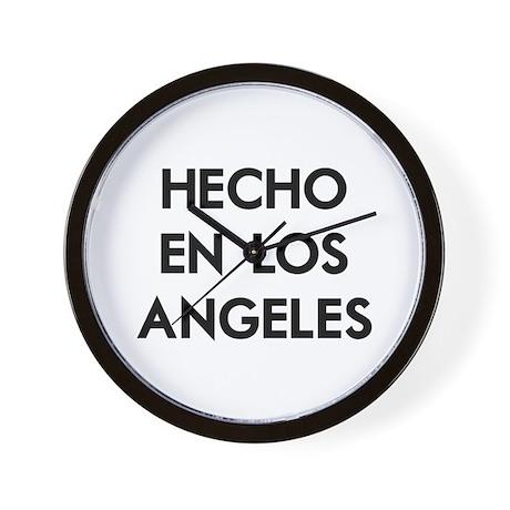 Hecho en Los Angeles Wall Clock