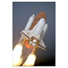 Atlantis STS-45 Poster