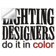 Lighting Designers Do it in C Wall Decal