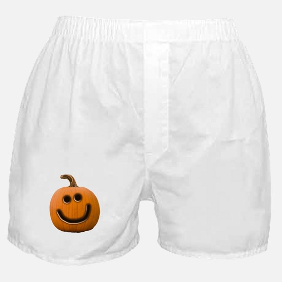 Happy Cute Jack O'Lantern Boxer Shorts