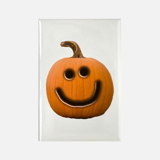 Happy Cute Jack O'Lantern Rectangle Magnet