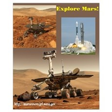 Small Mars Exploration Rover Poster