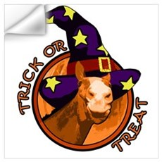 Trick Or Treat. Halloween Horse Wall Decal