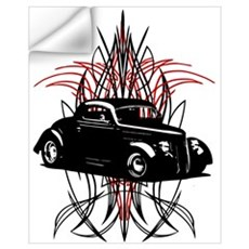 Black Betty 1 Wall Decal