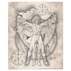 Archangel Uriel 16x20 Poster