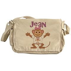 Little Monkey Jean Messenger Bag