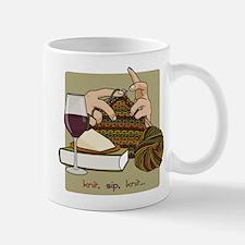 Knit Sip Knit Small Mugs