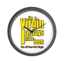I'm A Virgin, I Always Have Been Wall Clock