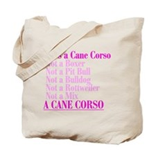 She's a Cane Corso Tote Bag
