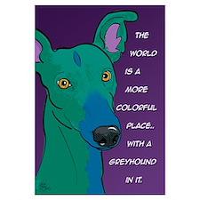 Colorful Greyhound