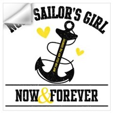 No. 1 Sailor's Girl Wall Decal