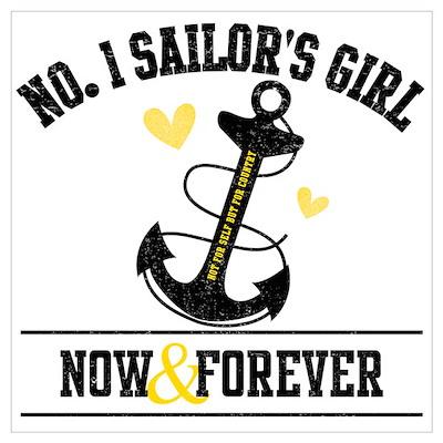 No. 1 Sailor's Girl Poster