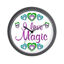 I Love Magic Wall Clock