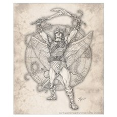Archangel Camael 16x20 Poster
