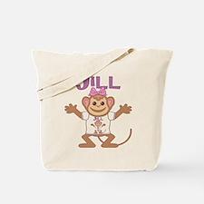 Little Monkey Jill Tote Bag