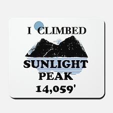 Sunlight Peak Mousepad