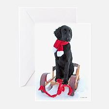 Flat-coated Retriever Christmas Cards (Pk of 10)