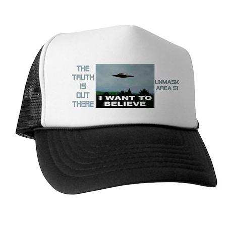 """""""UFO"""" Trucker Hat"""